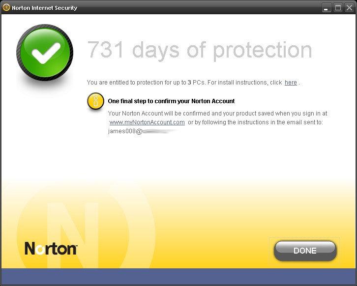 Название Norton Internet Security 2009 & Norton AntiVirus 2009